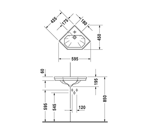 Technical drawing QS-D19304 / 0793420000