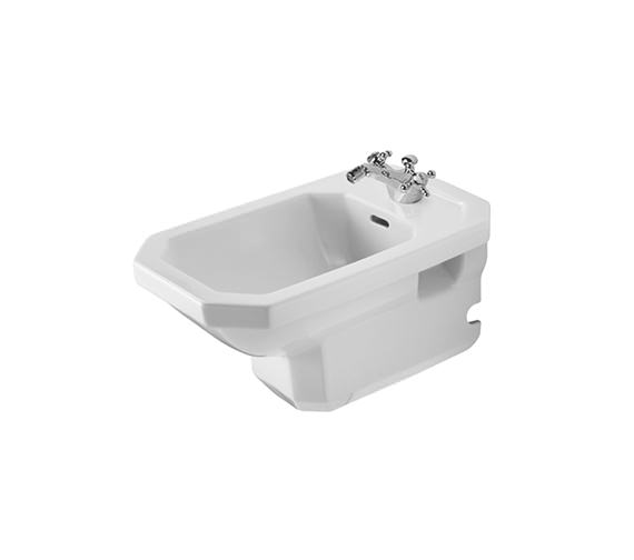 Duravit 1930 Series Wall Mounted Bidet 580mm - 0266100000