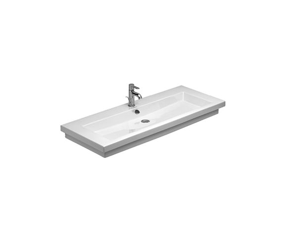 Duravit 2nd Floor 1200 x 505mm Furniture Washbasin  - 0491120000