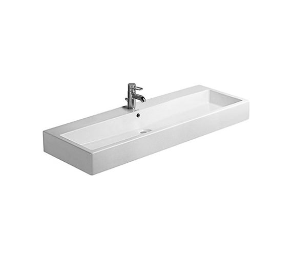 Duravit Vero White 1200 x 470mm 1 Tap Hole Basin - 0454120000