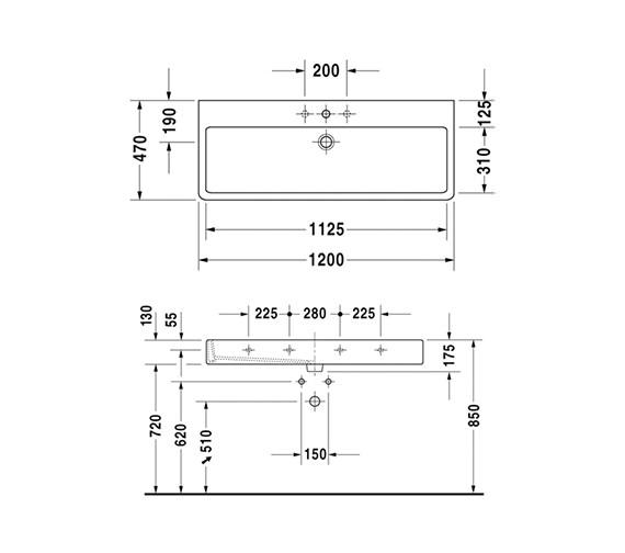Technical drawing QS-D19331 / 0454120000