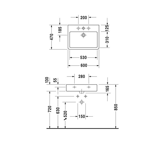 Technical drawing QS-D19336 / 0454600000