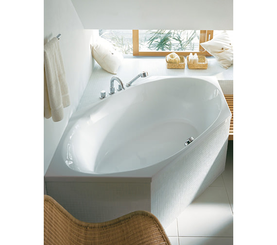 Image 3 of Duravit 2x3 Hexagonal 1900 x 900mm Built In Bath - 700025000000000