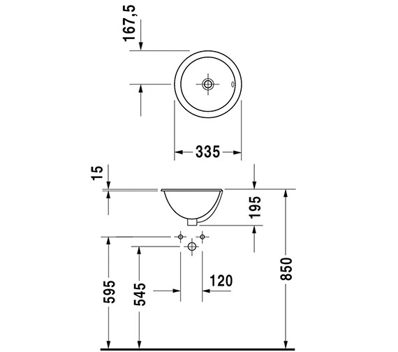 Technical drawing QS-D19342 / 0473340031