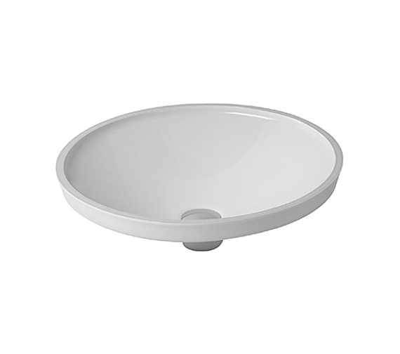 Duravit architec undercounter vanity basin 420mm 0319420000 for Duravit architec basin