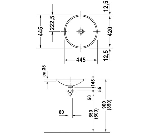 Technical drawing QS-D19343 / 0319420000