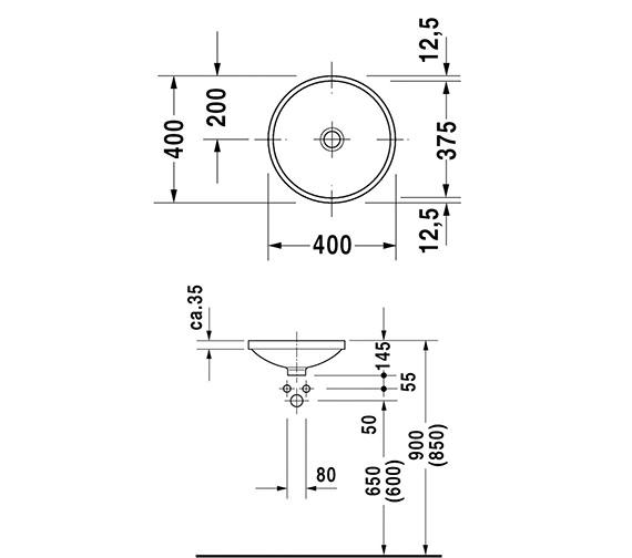Technical drawing QS-D19344 / 0319370000