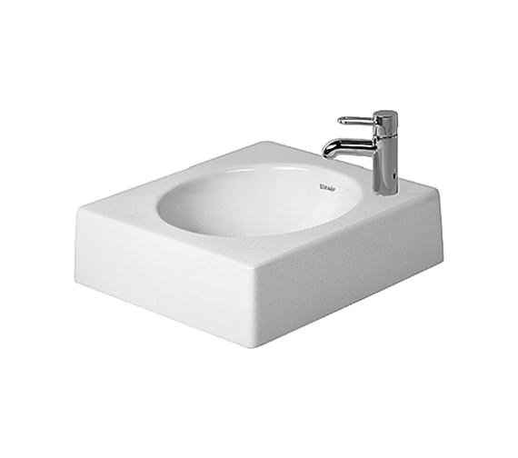 Duravit architec 420mm above counter ground basin 0320420000 for Duravit architec basin