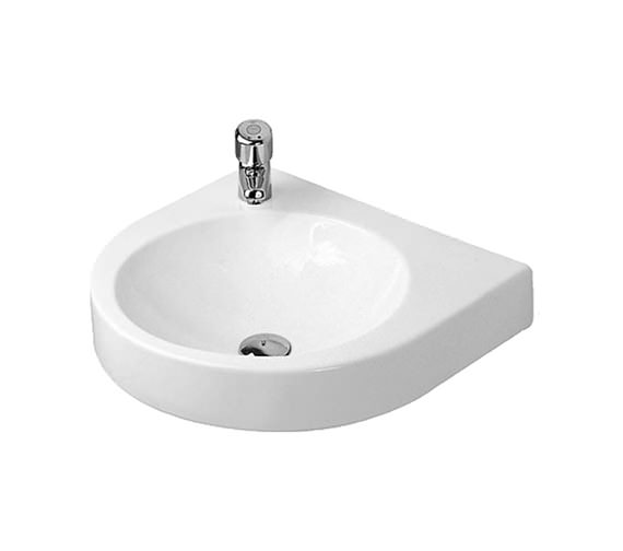Duravit Architec 575 x 520mm Left Hand Tap Hole Basin