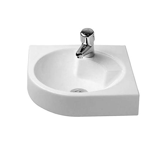 Duravit Architec 635mm Corner Washbasin - 0448450000