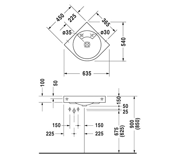 Technical drawing QS-D19356 / 0448450000