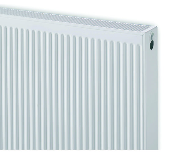 Additional image of Quinn 600 x 500mm Single Panel Central Heating Radiator - Q11506KD