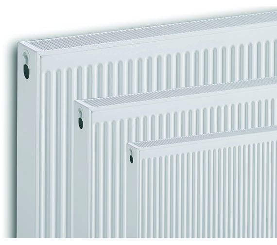 Image 5 of Quinn Compact Double Panel Plus Radiator 700 x 700mm 21K