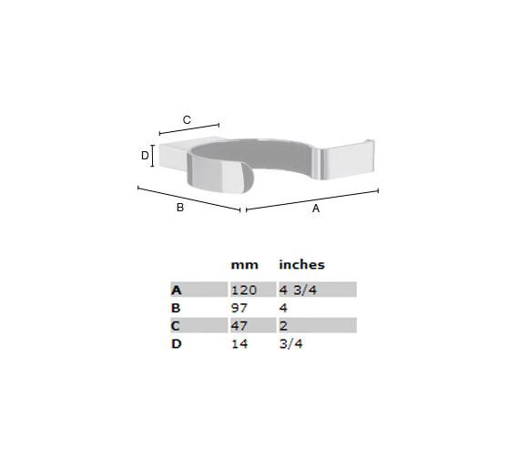 Technical drawing QS-S102 / AK323