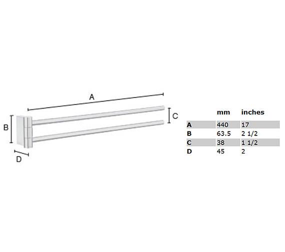 Technical drawing QS-S104 / AK326