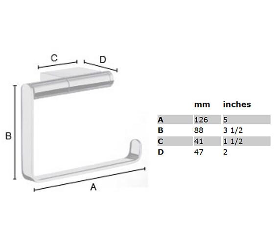 Technical drawing QS-S108 / AK341