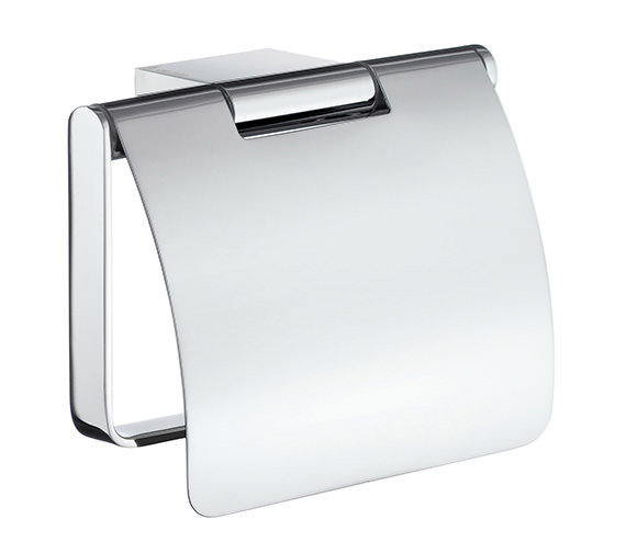 Smedbo Air Toilet Roll Holder With Cover - AK3414