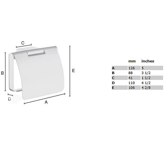 Technical drawing QS-S109 / AK3414