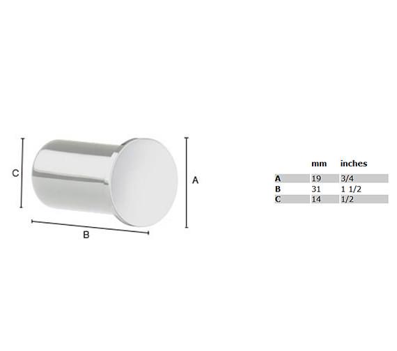 Technical drawing QS-S113 / AK3455