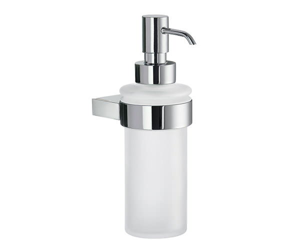 Smedbo Air Frosted Glass Soap Dispenser With Holder