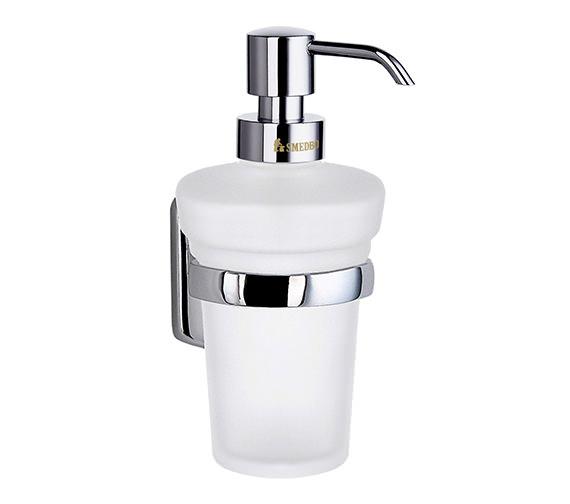 Smedbo Cabin Glass Soap Dispenser With Holder - CK369