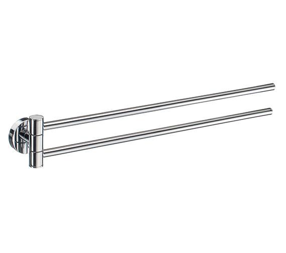 Smedbo Home Swing Arm Towel Rail 440mm