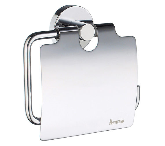 Smedbo Home Toilet Roll Holder With Cover - HK3414