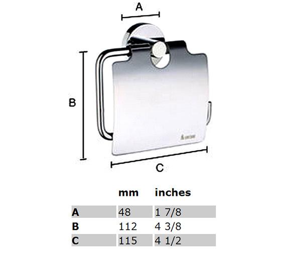 Technical drawing QS-S144 / HK3414