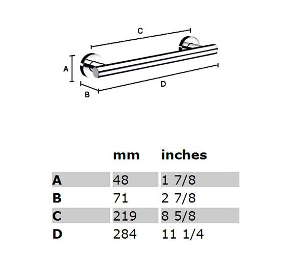 Technical drawing QS-S147 / HK325