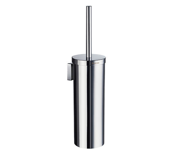 Smedbo House Wall Mounted Brush and Holder Chrome