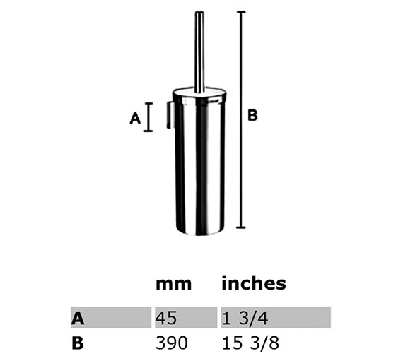 Technical drawing QS-S163 / RK332