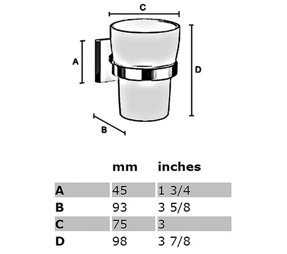 Technical drawing QS-S168 / RK343