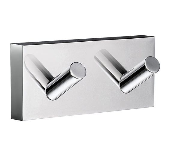 Smedbo House Double Towel Hook - RK356