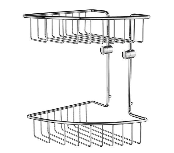 Smedbo House Corner 2 Level Soap Basket