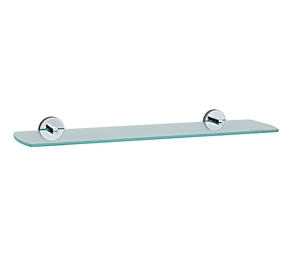 Smedbo Loft 600mm Bathroom Glass Shelf