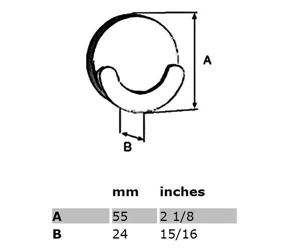Technical drawing QS-S208 / LK356