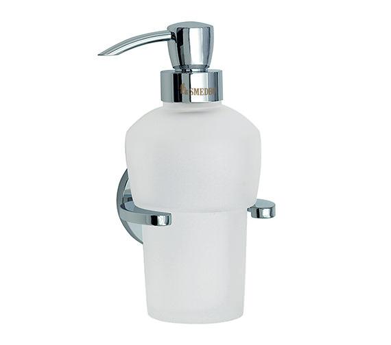 Smedbo Loft Wallmounted Glass Soap Dispenser