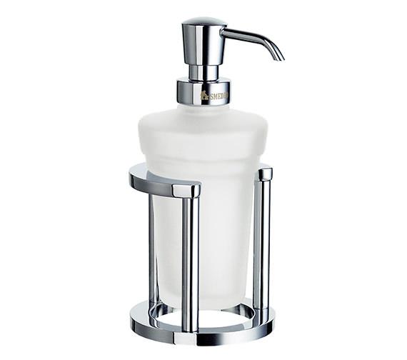 Smedbo Outline Free Standing Glass Soap Dispenser With Holder - FK201