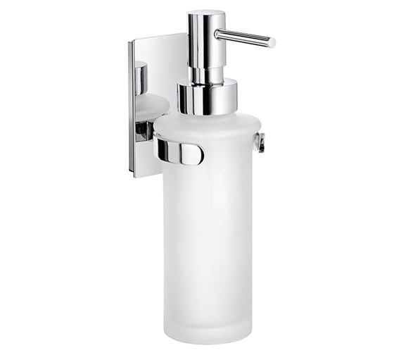 Smedbo Pool Glass Soap Dispenser With Holder