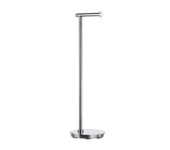 Smedbo Outline Lite Free Standing Toilet Roll Holder Round Base
