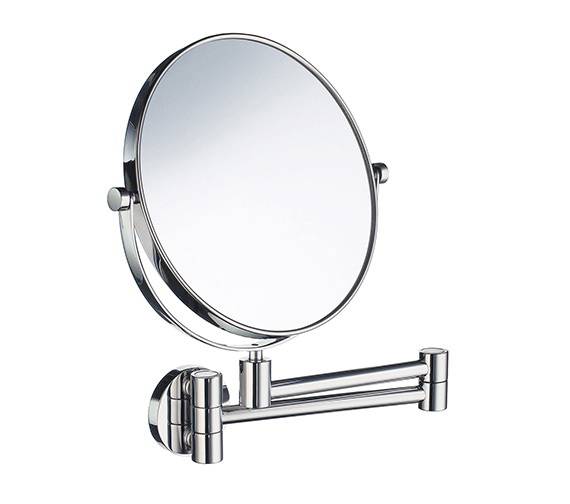 Smedbo Outline Swing Arm Shaving And Make-Up Mirror - FK430