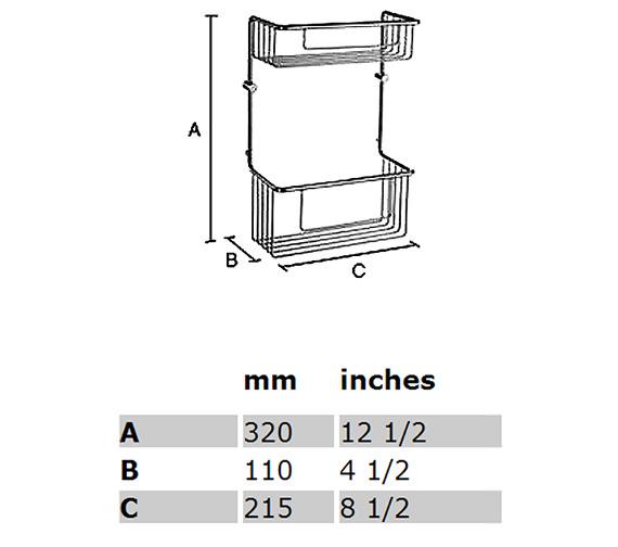 Technical drawing QS-S281 / DK1031