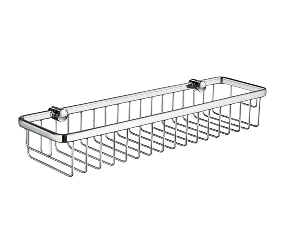 Smedbo Sideline 400mm  Design Soap Basket Straight 1 Level Wide