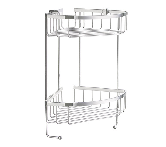 Smedbo Sideline Design Soap Basket Corner 2 Level