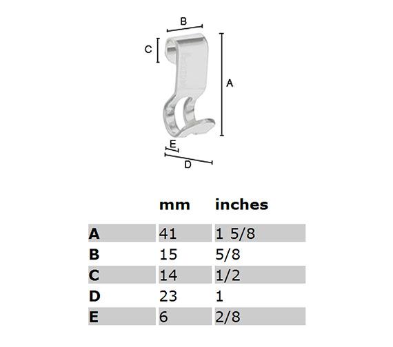 Technical drawing QS-S298 / DK2100