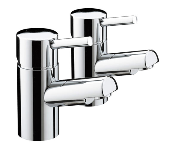 Bristan Prism Bath Taps Chrome - PM 3-4 C