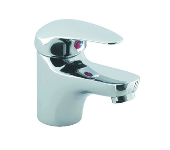Alternate image of Aqva Barra Basin Mixer Chrome Tap Without Waste