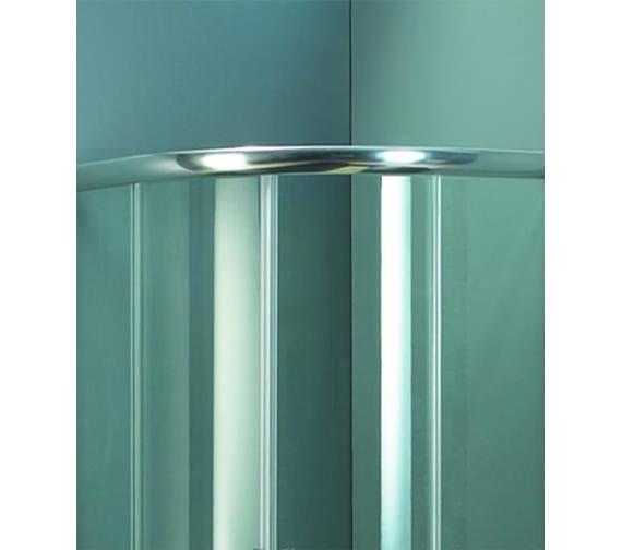 Alternate image of Aqva Beetel Quadrant Shower Enclosure 900 x 900mm