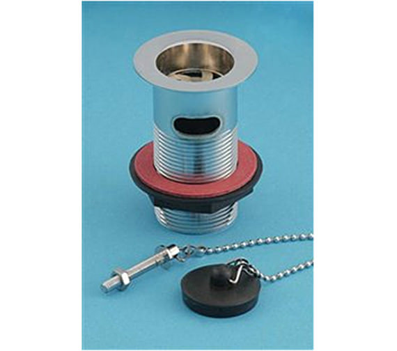 Aqva ASP Washbasin Slotted WSC Plastic Plug - 10902