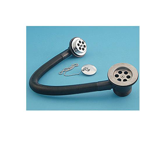 Aqva ASP Bath Combination Chain Waste Metal Plug - 10903